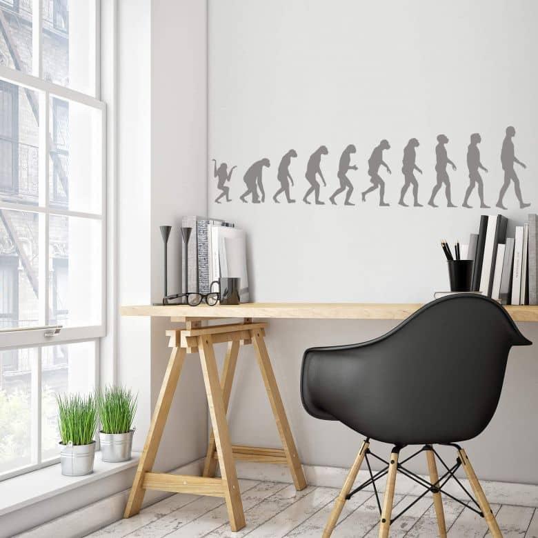 Adesivo murale - Evoluzione