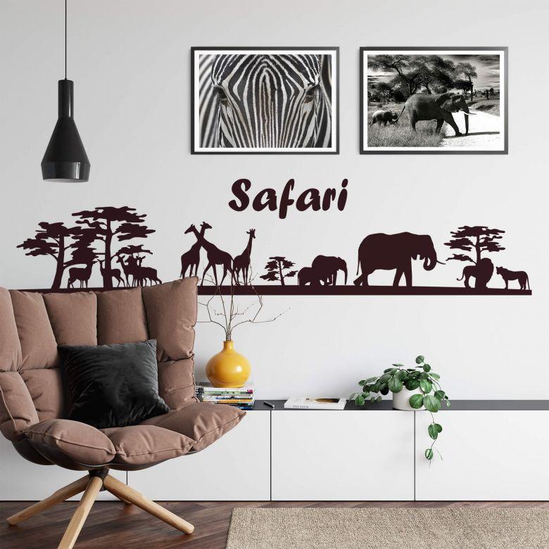Safari 1 Wall sticker