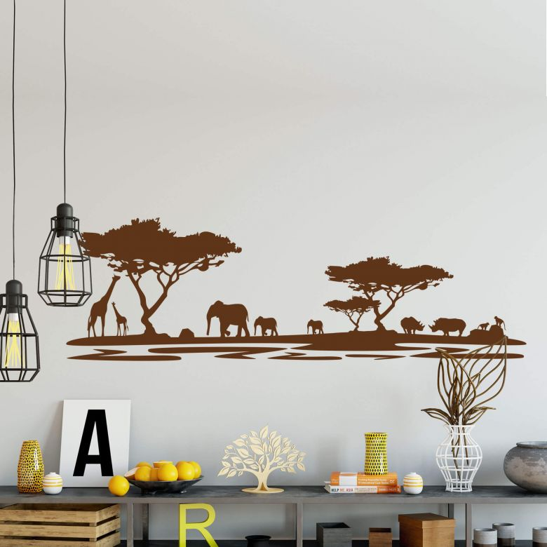 Africa 5 Wall sticker