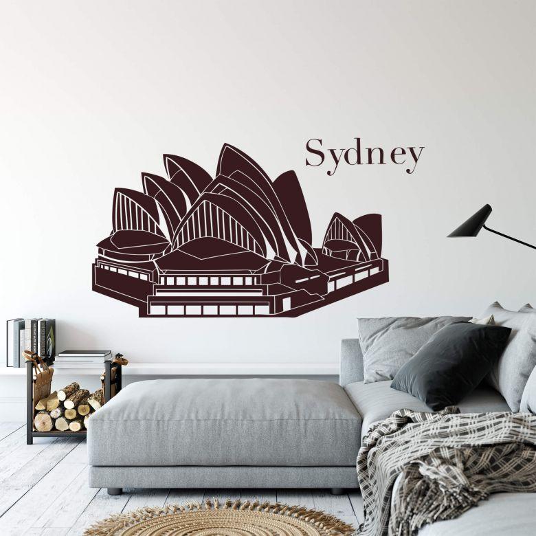 Muursticker Sydney Opera