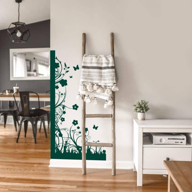 Flower Power Corner Wall sticker