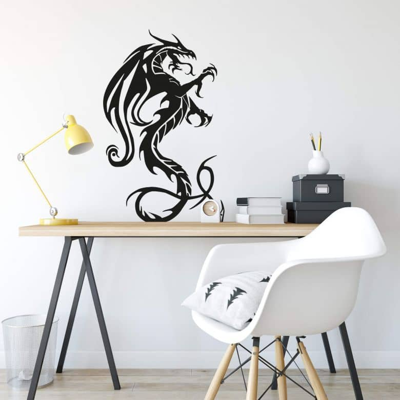 Sticker mural - Dragon Puissant