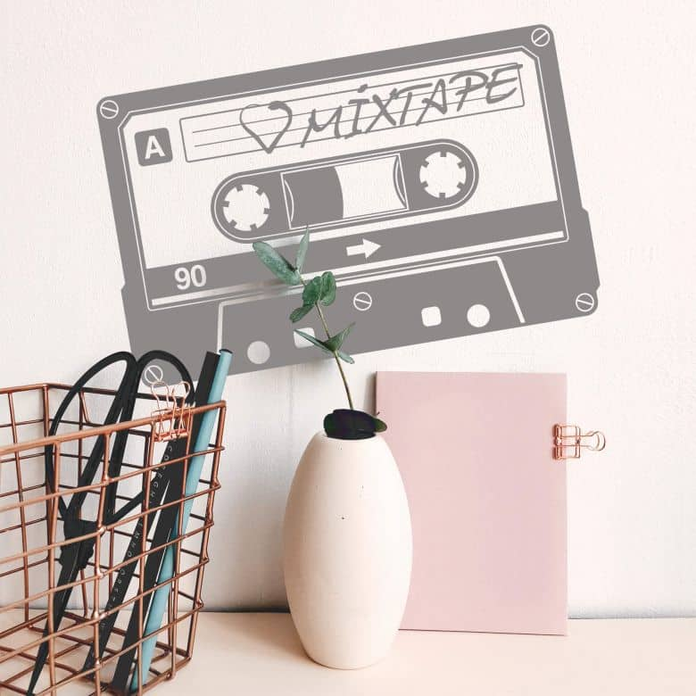 Wandtattoo Mixtape