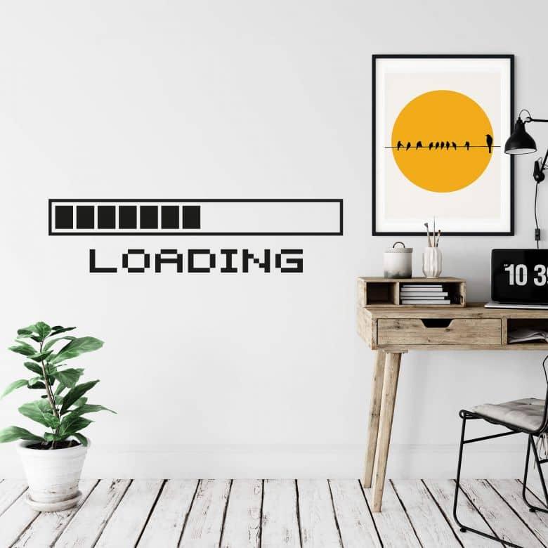 Loading Bar Wall sticker