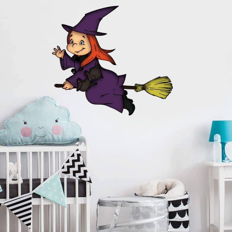 Wandtattoo Halloweenhexe 2