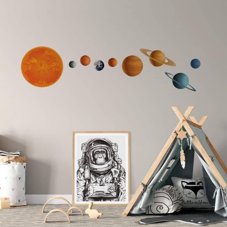 Solar System Wall sticker