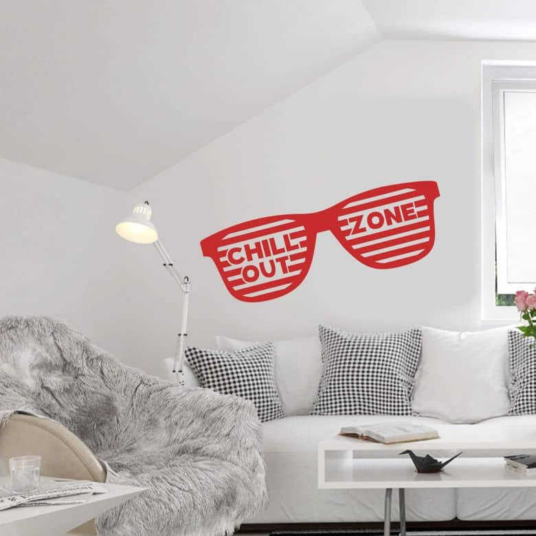 Chillout Zone 4 Wall Sticker Wall Art Com