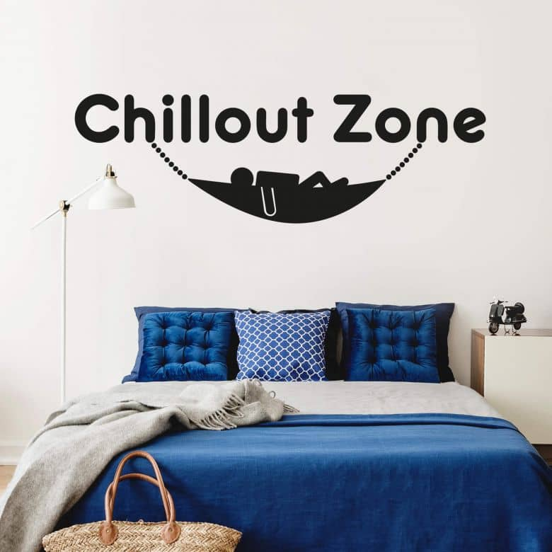 Chillout Zone 5 Wall Sticker