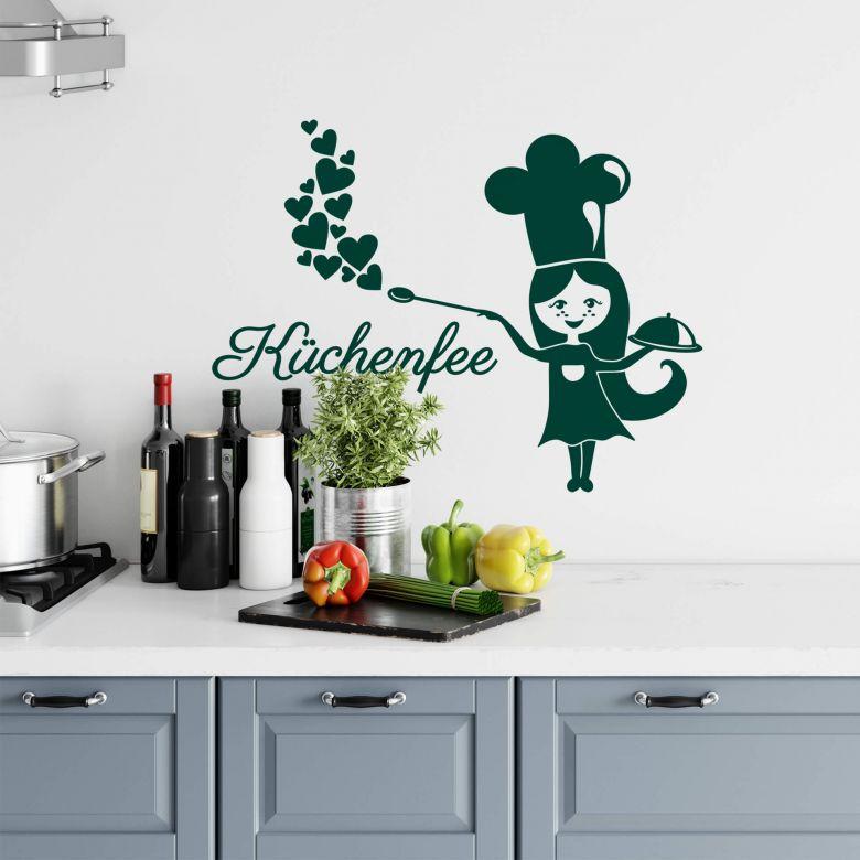 Sticker mural - Bonne cuisinière
