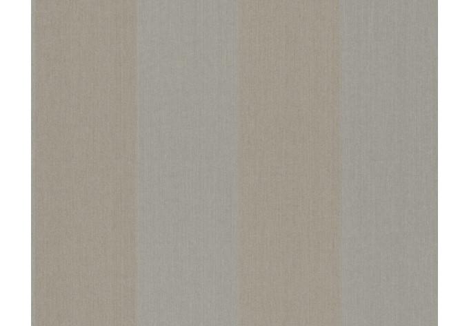 Mustertapete Architects Paper Textiltapete Haute Couture 3 Braun, Metallic