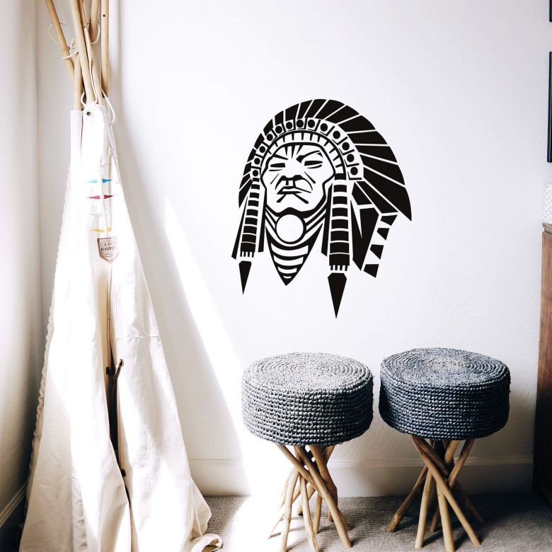 Wall sticker Indian