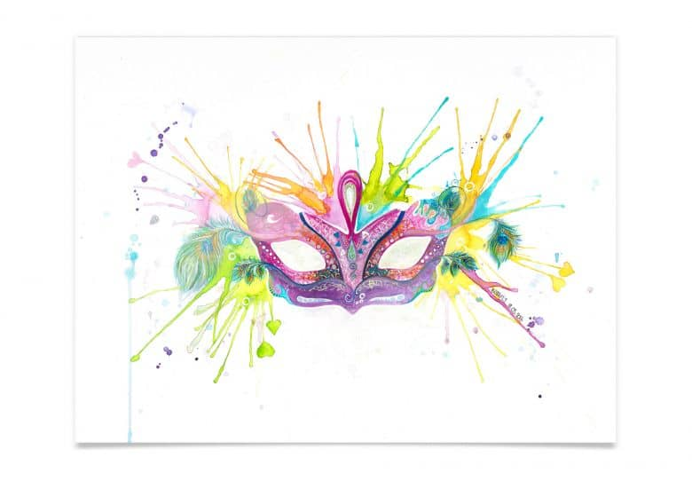 Poster Buttafly - Mardi Gras