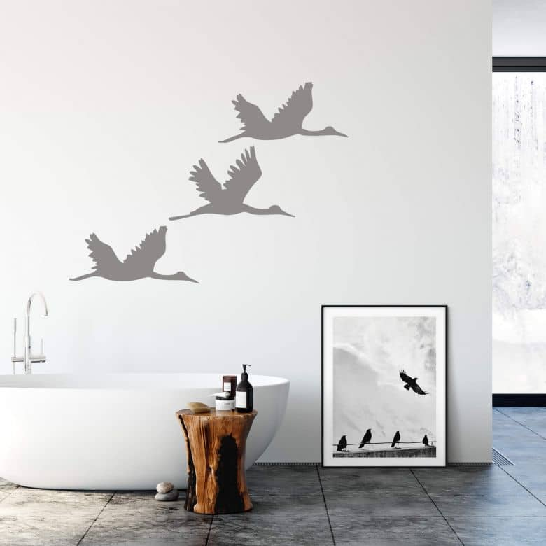 Tile decor: Birds Wall sticker