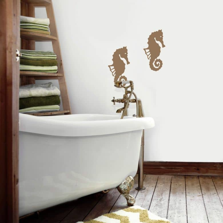 Tile decor: Sea horse Wall sticker