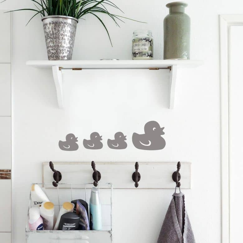 Tile decor: Quacking ducks Wall sticker