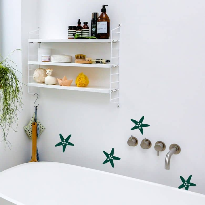 Tile decor: Star fish Wall sticker