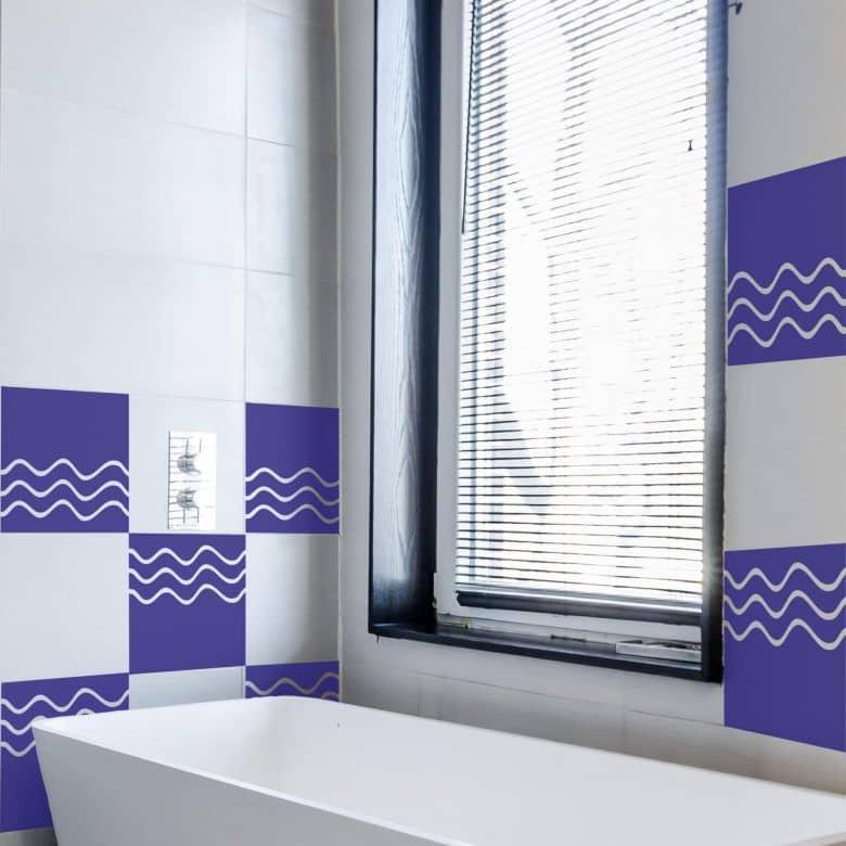 Tile decor: Waves Wall sticker