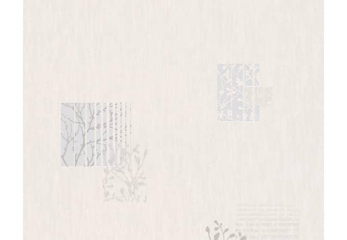 Mustertapete A.S. Création Vliestapete Life 2 Beige, Grau, Metallic