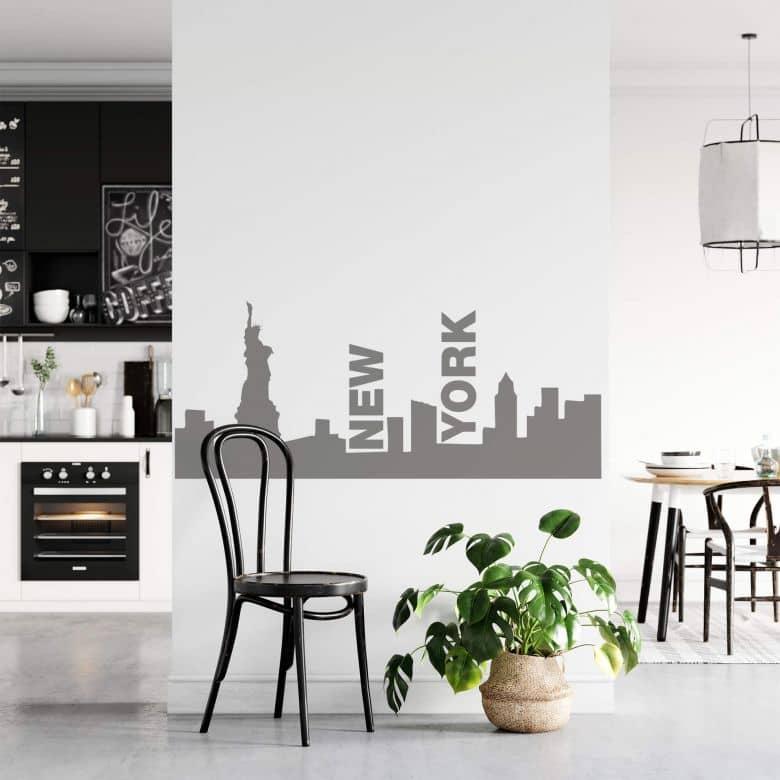 Sticker mural - New York Skyline