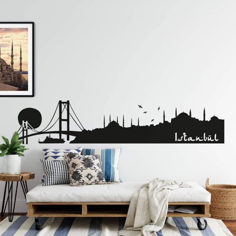 Istanbul Skyline Wall sticker