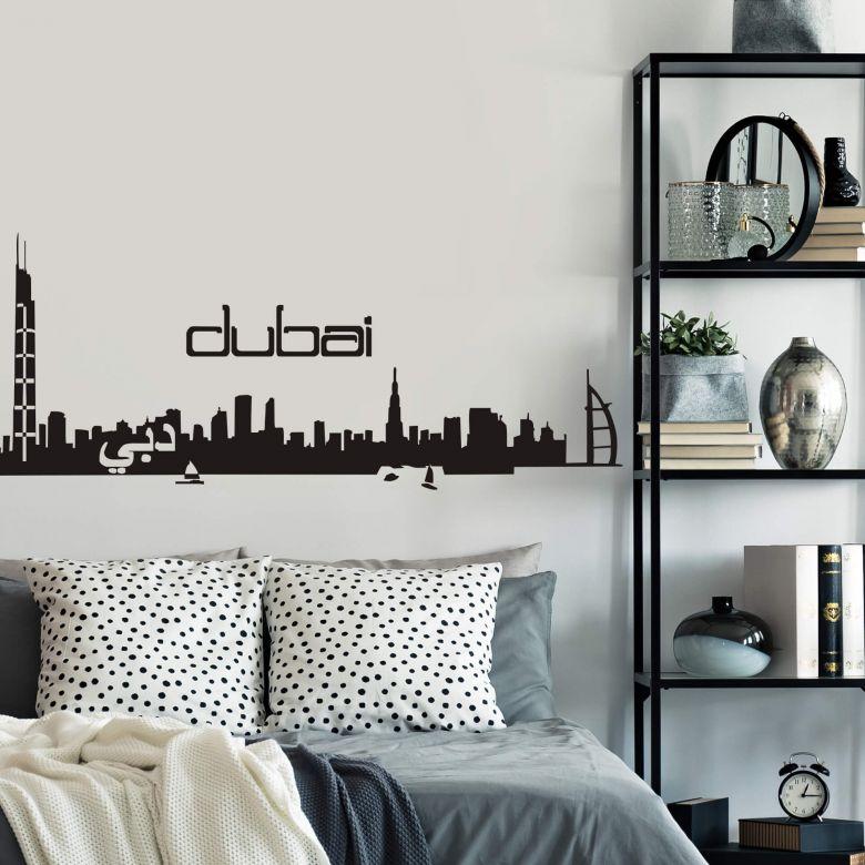 Adesivo murale - Profilo di Dubai