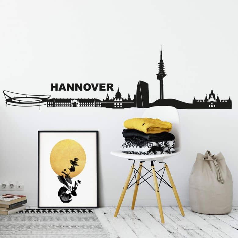 Hannover Skyline Wall Sticker
