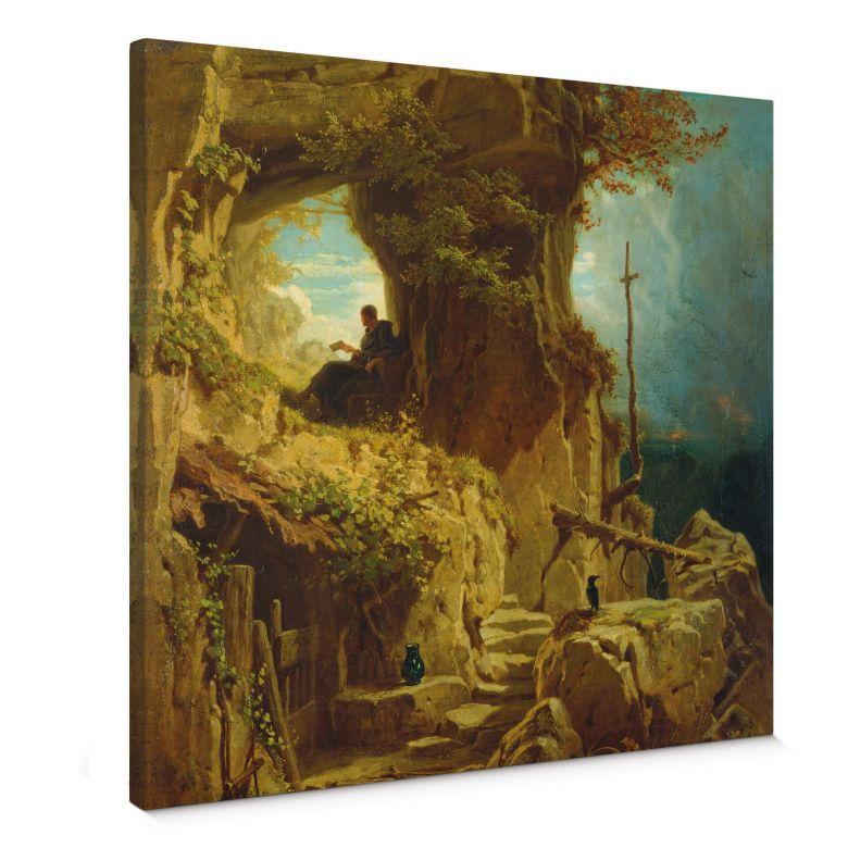 Tableau sur toile Spitzweg - L'hermite