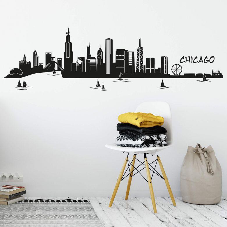Chicago Skyline Wall sticker