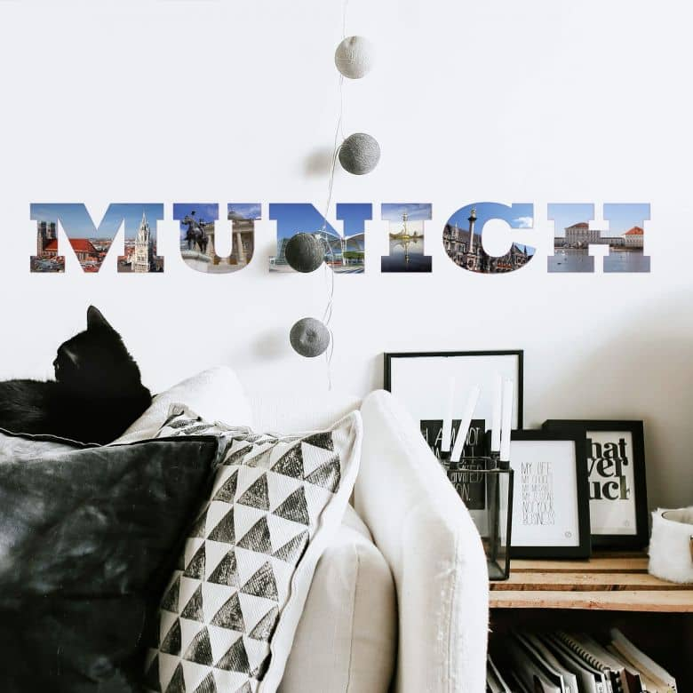 Impression Munich Wall sticker