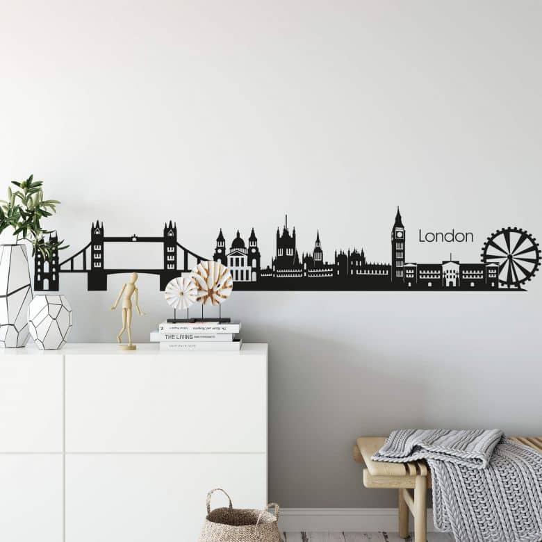 London Skyline 2 Wall sticker