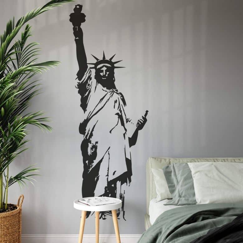 Adesivo murale - Statua della Libertà