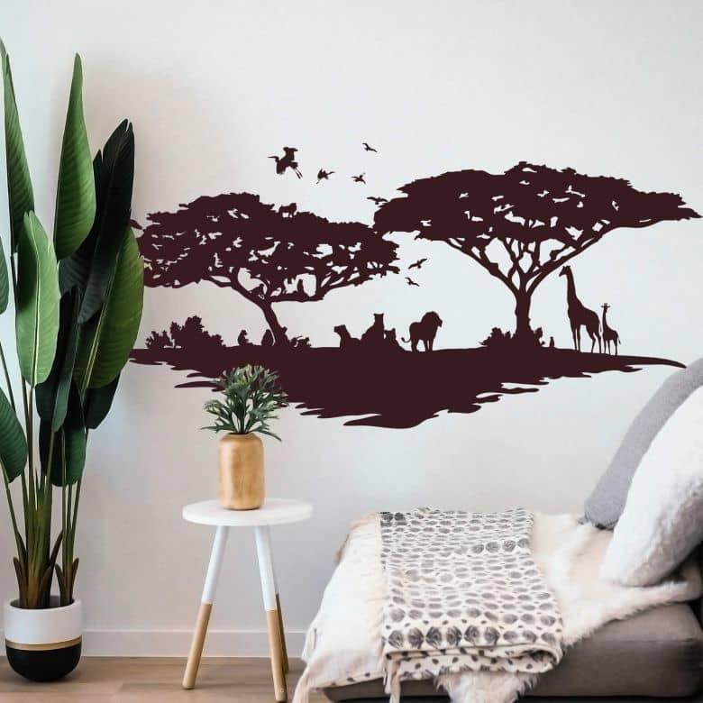 Adesivo murale - Savana