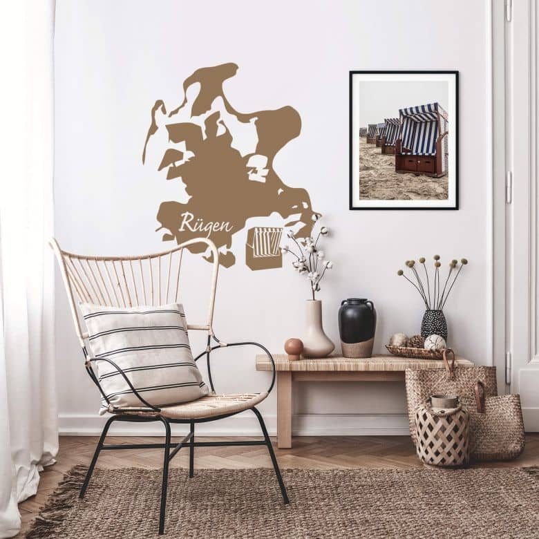 Wandtattoo Rugen Skyline Die Beliebte Insel In Der Ostsee Als Wandtattoo Wall Art De