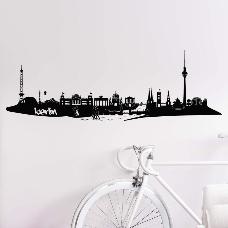 Berlin Skyline Wall sticker