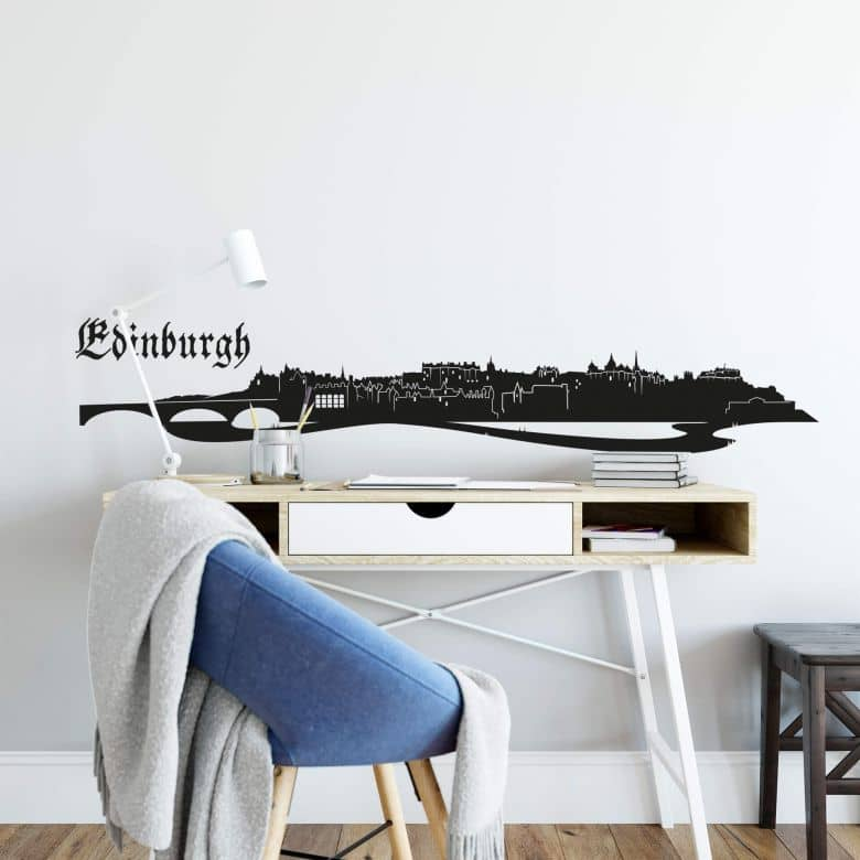 Edinburgh Skyline Wall sticker