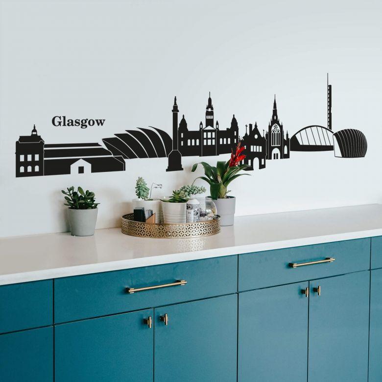 Glasgow Skyline Wall sticker