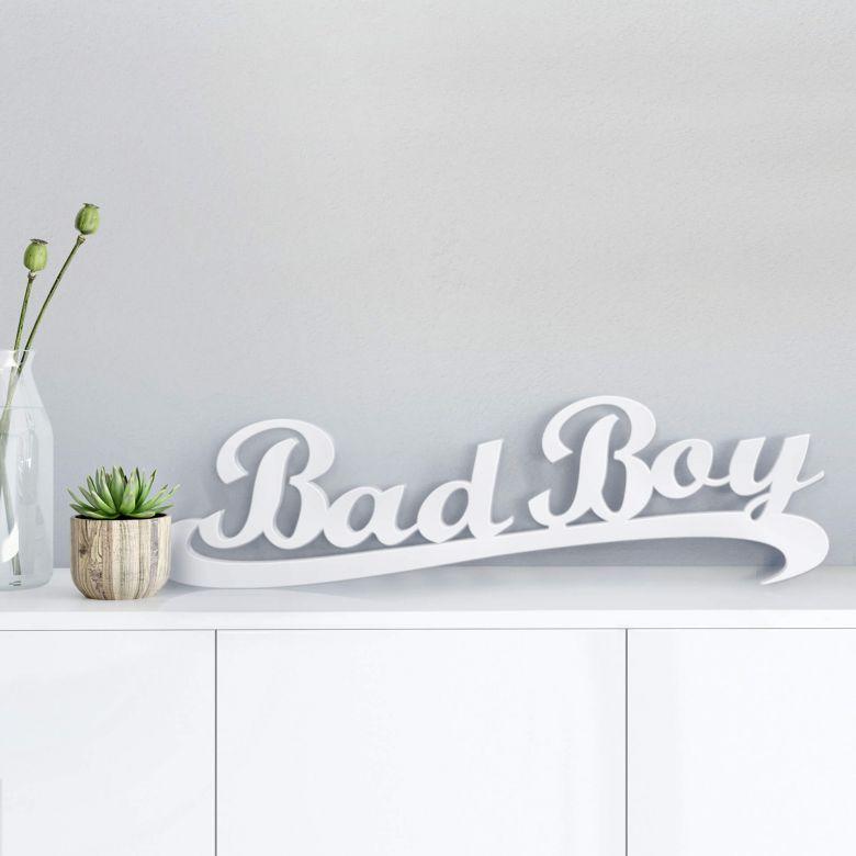 Dekobuchstaben 3D Bad Boy
