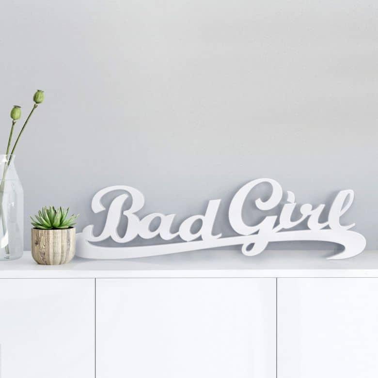 Dekobuchstaben 3D Bad Girl