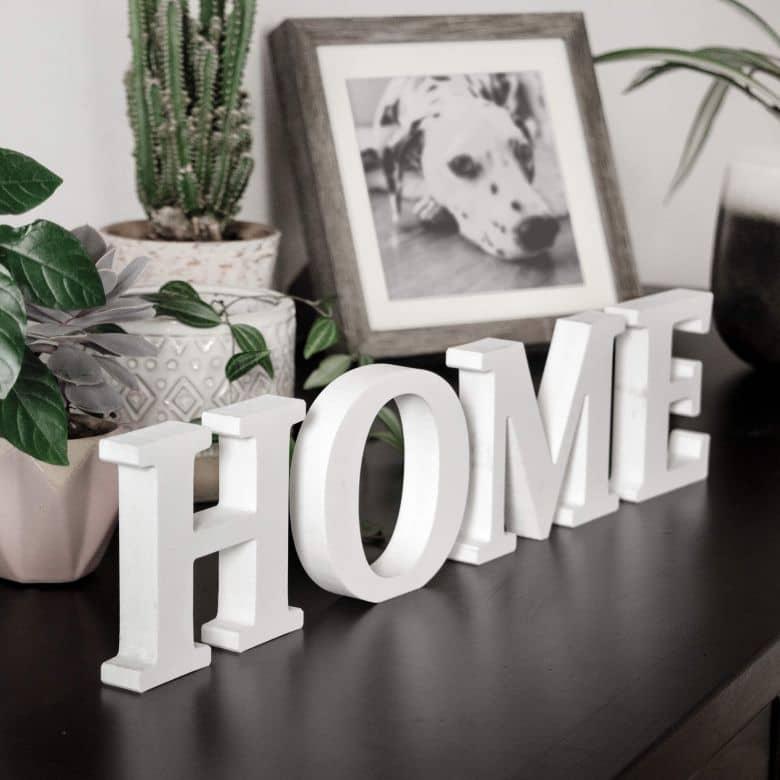 Lettere decorative - 3D HOME 2