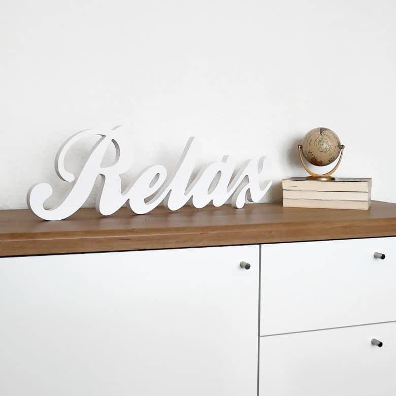 3D Relax 3D letter