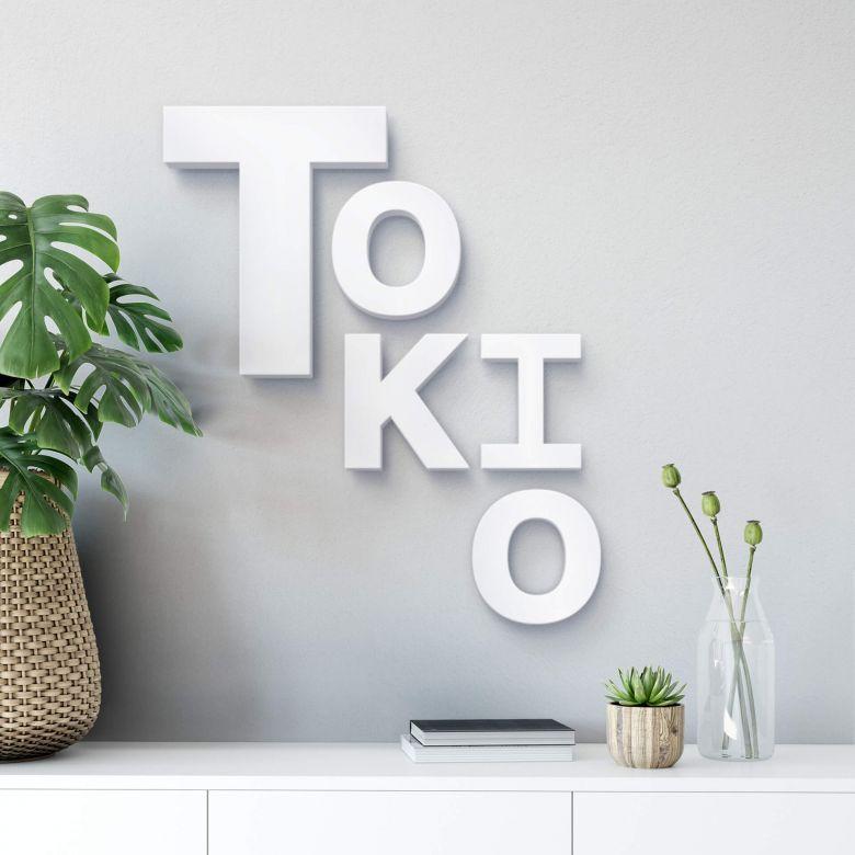Decoratieletters Tokio