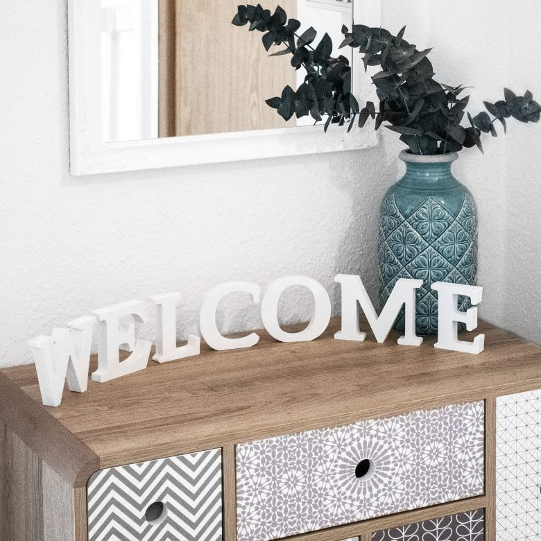 Lettere decorative - 3D Welcome