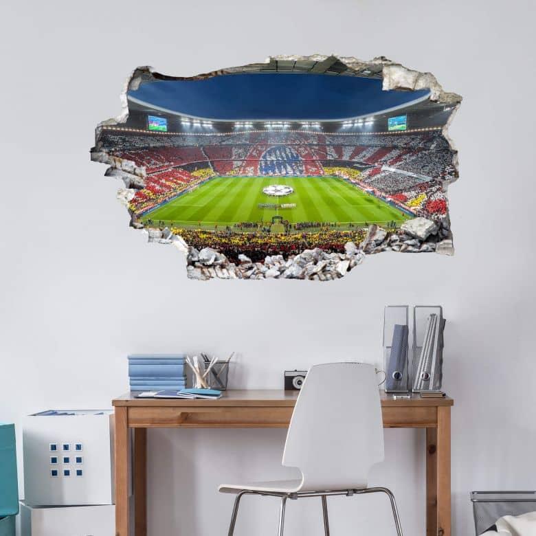 3D Wall sticker Bayern Munich - Immer weiter
