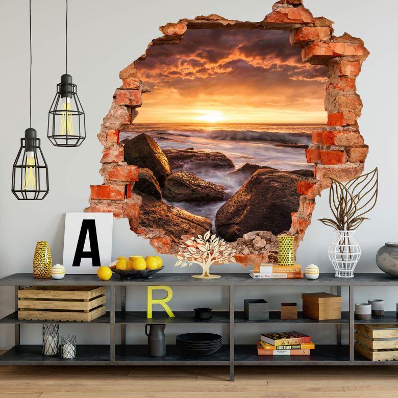 3D Wandtattoo - Galbraith Cape Solander