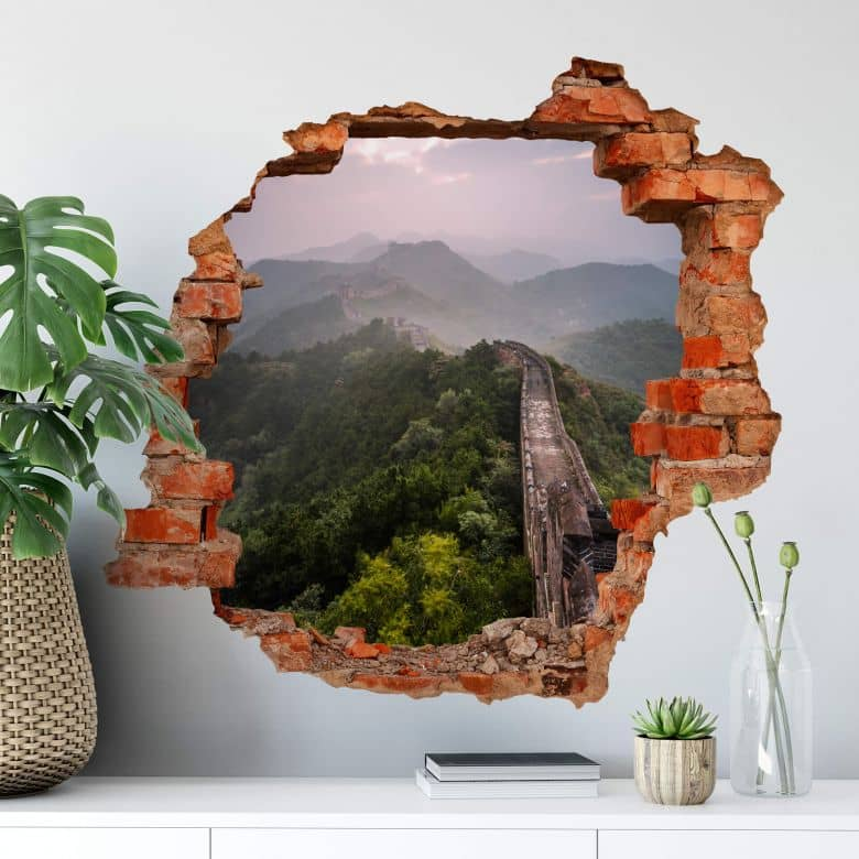 3D Wall Stickers Colombo - The Chinese wall