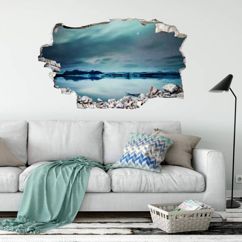 3D Wall Sticker Colombo - Nothern Lights