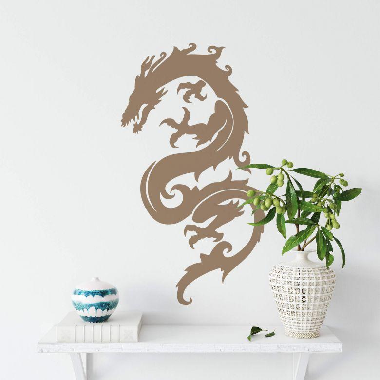 Adesivo murale - Drago
