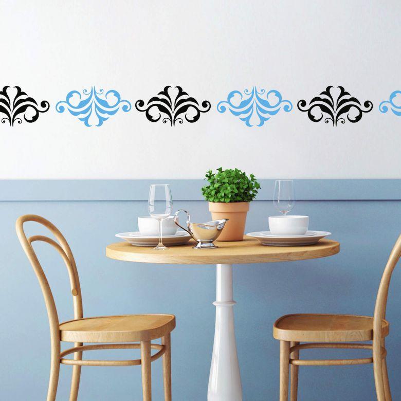 Sticker mural - Élément de Bordure