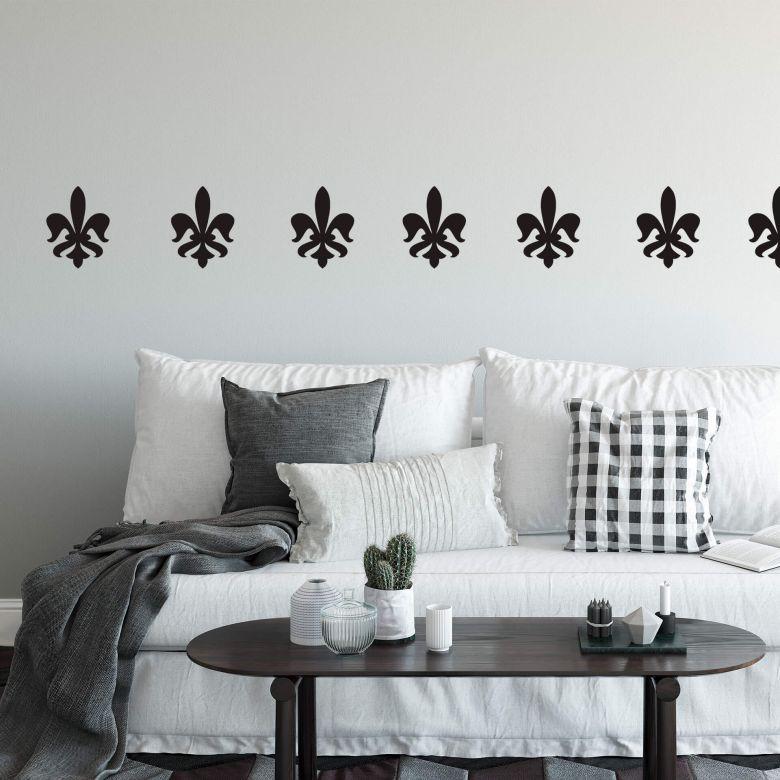 Sticker mural - Fleur de Lys 3