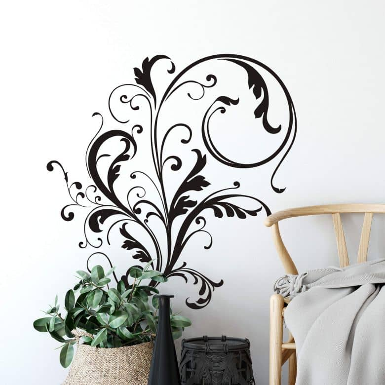 Sticker mural - Ornement Vigne